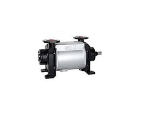 Liquid ring vacuum pump stage compressor
