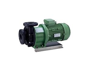 Plastic magnetic pump